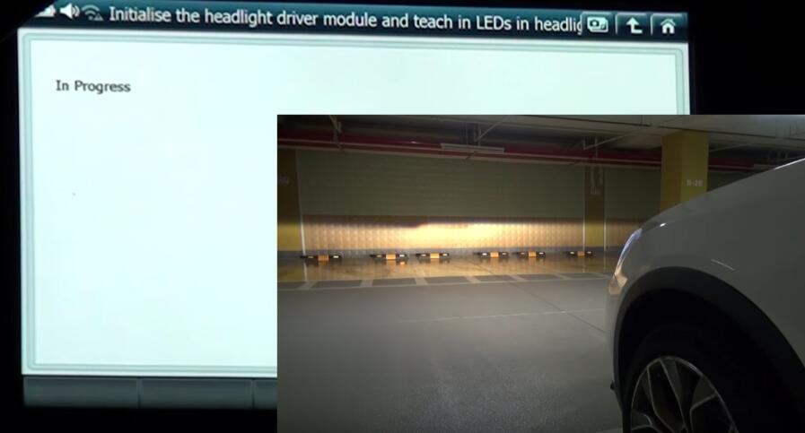 How to Use G-scan 2 Initialize Headlight Driver Module for BMW X3 2015 (7)