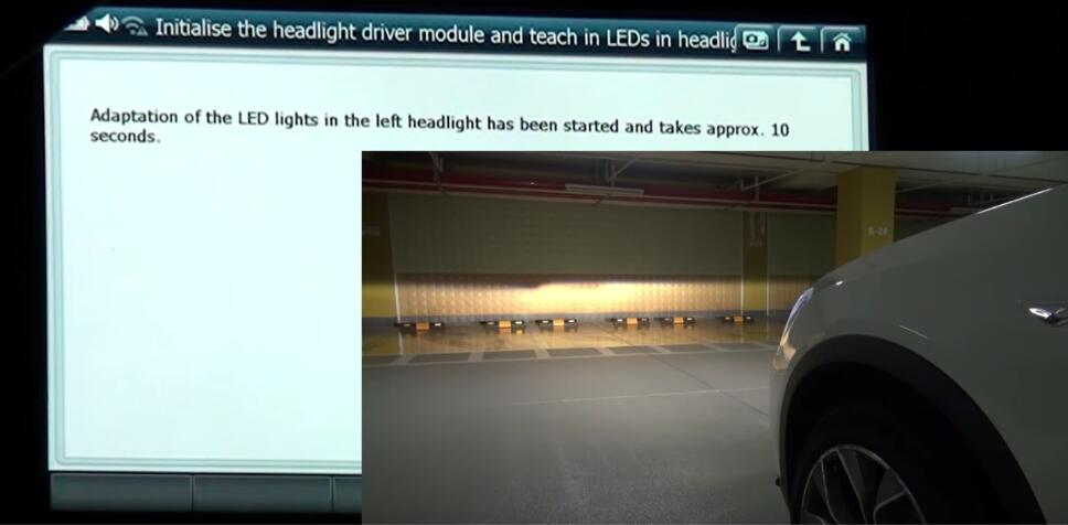 How to Use G-scan 2 Initialize Headlight Driver Module for BMW X3 2015 (8)