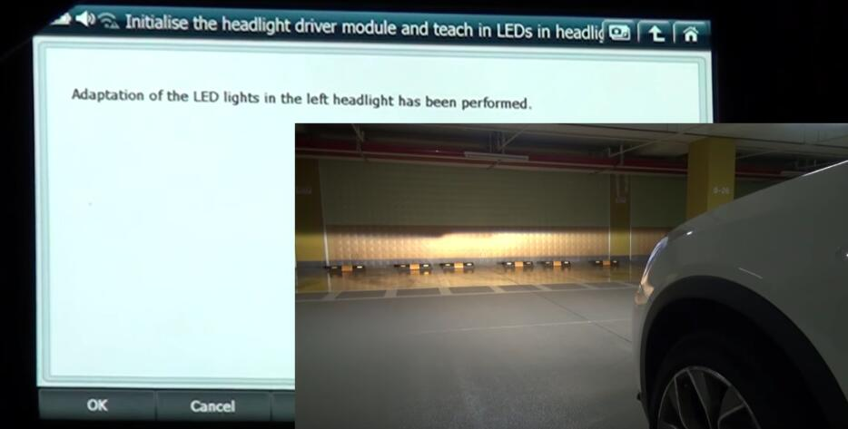 How to Use G-scan 2 Initialize Headlight Driver Module for BMW X3 2015 (9)