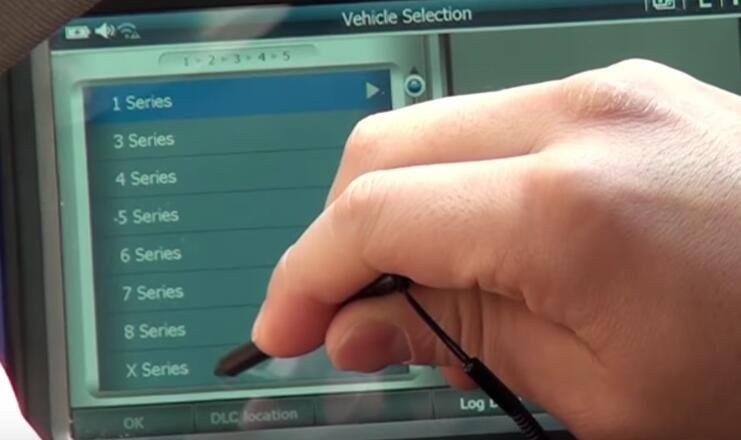 How to Use G-scan 2 Register New Battery for BMW X3 2015 (3)
