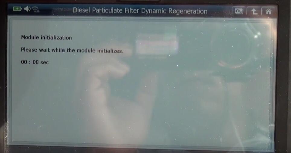 Jaguar XF 2011 DPF Regeneration by G-Scan 2 Diagnostic Tool (16)