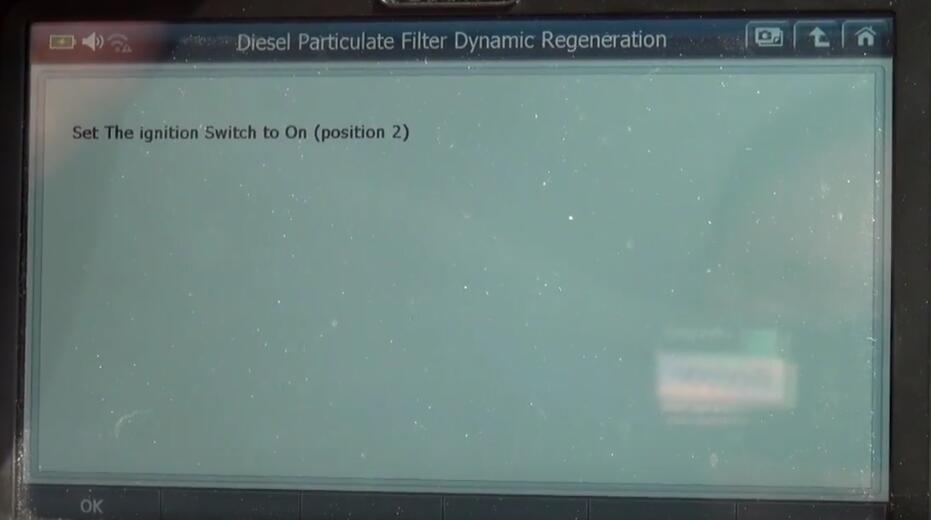 Jaguar XF 2011 DPF Regeneration by G-Scan 2 Diagnostic Tool (4)