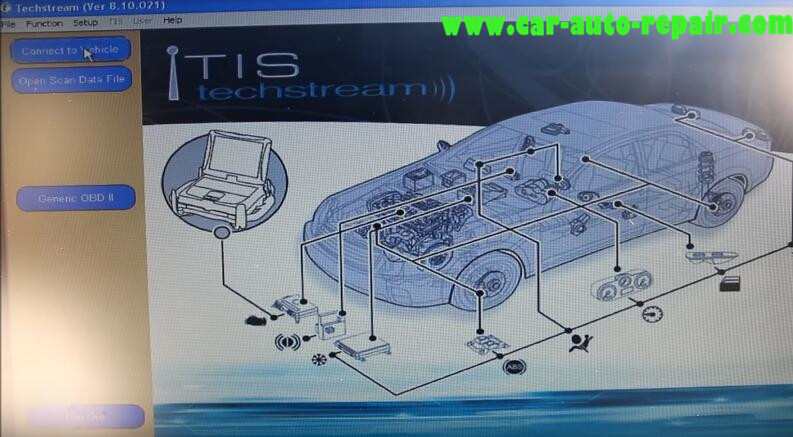 Lexus ES330 2005 Remote Power Window Coding by Toyota Techstream (4)