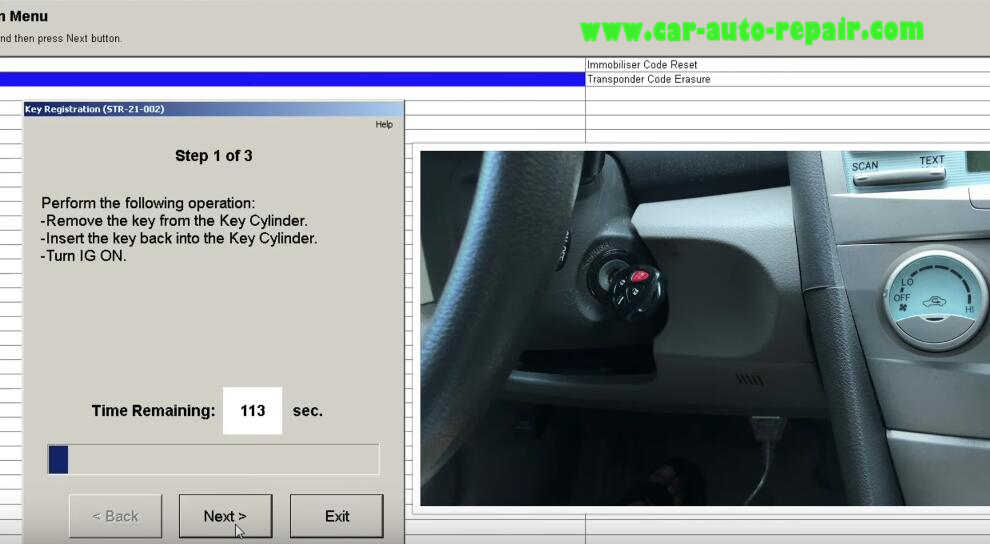 Techstream Program New Keys for Toyota Camry (5)