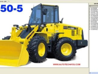 KOMATSU LinkOne EPC Parts Catalogue Free Download