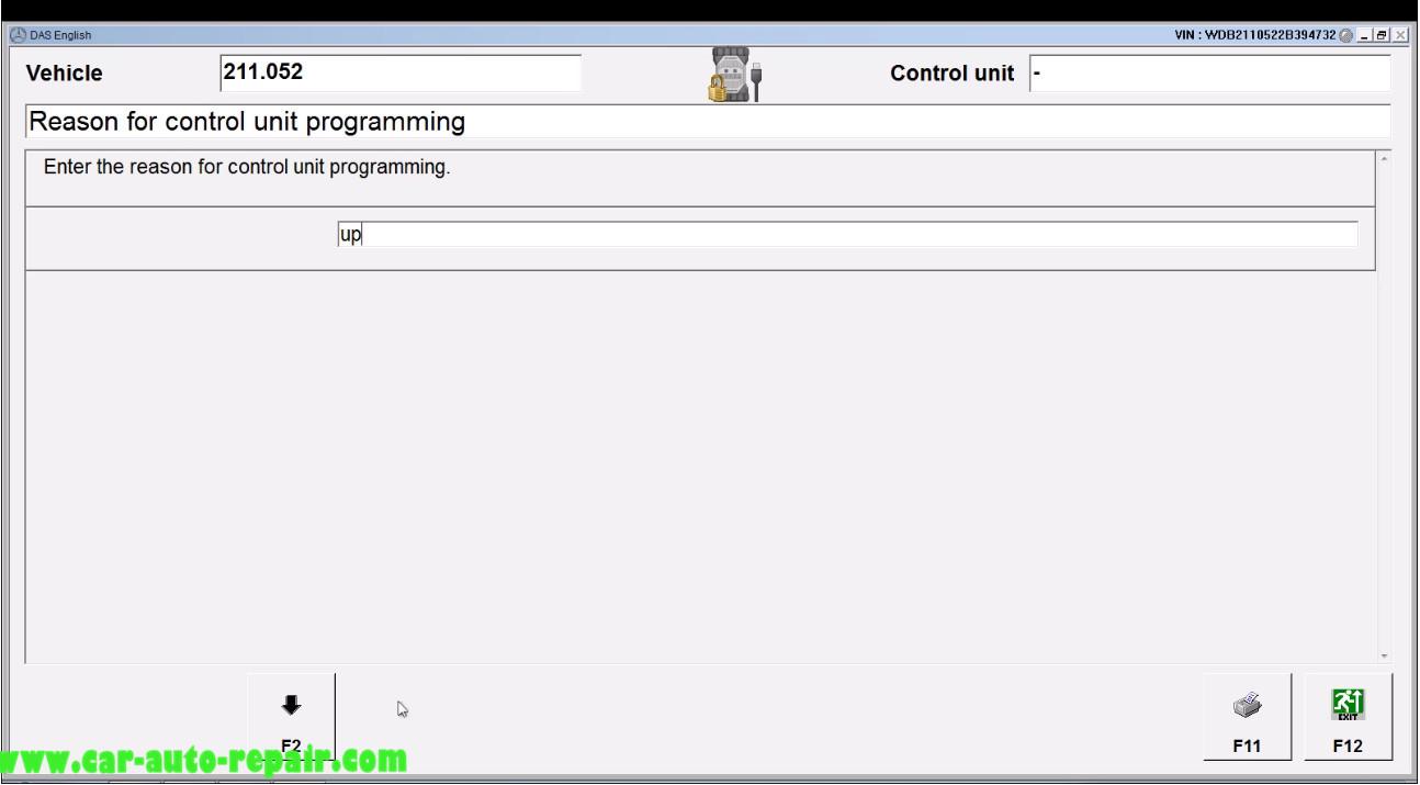 Benz E211 Central Gateway Offline Coding by DAS Xentry (12)