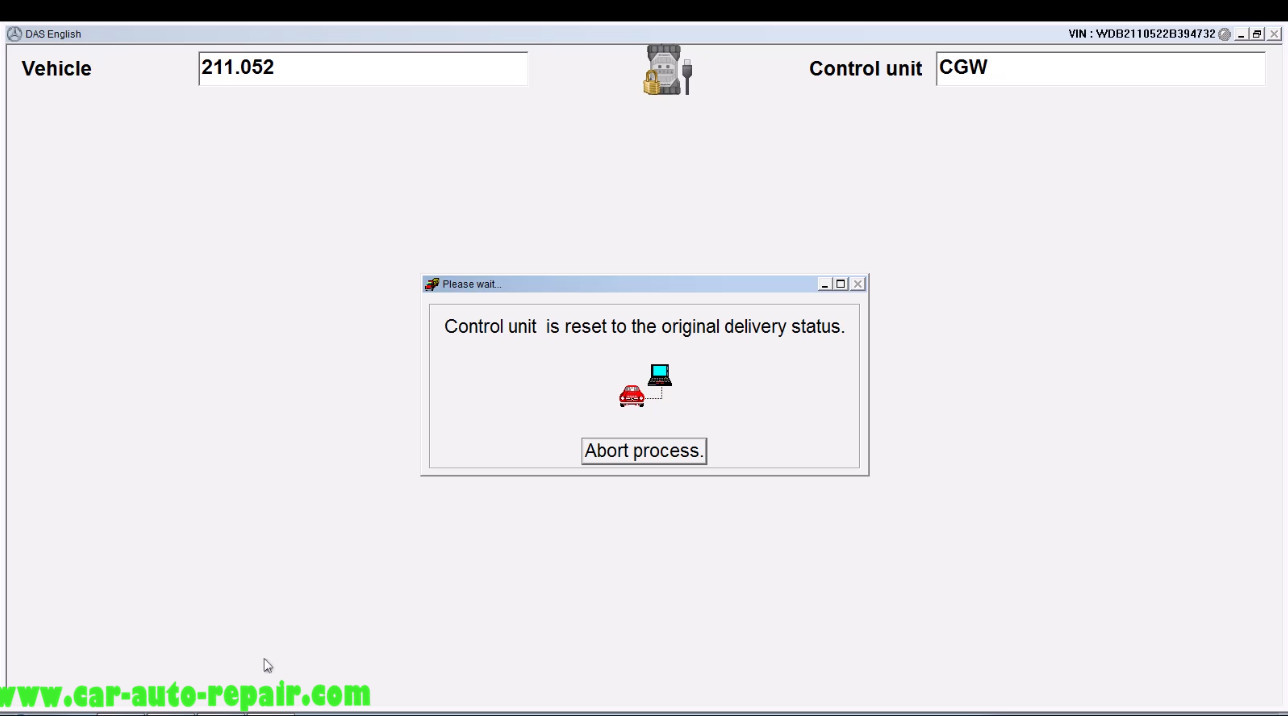 Benz E211 Central Gateway Offline Coding by DAS Xentry (14)