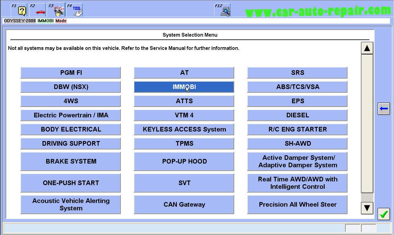 Honda Odyssey 2008 ProgramRegister New ECMPCM by Honda HDS (1)