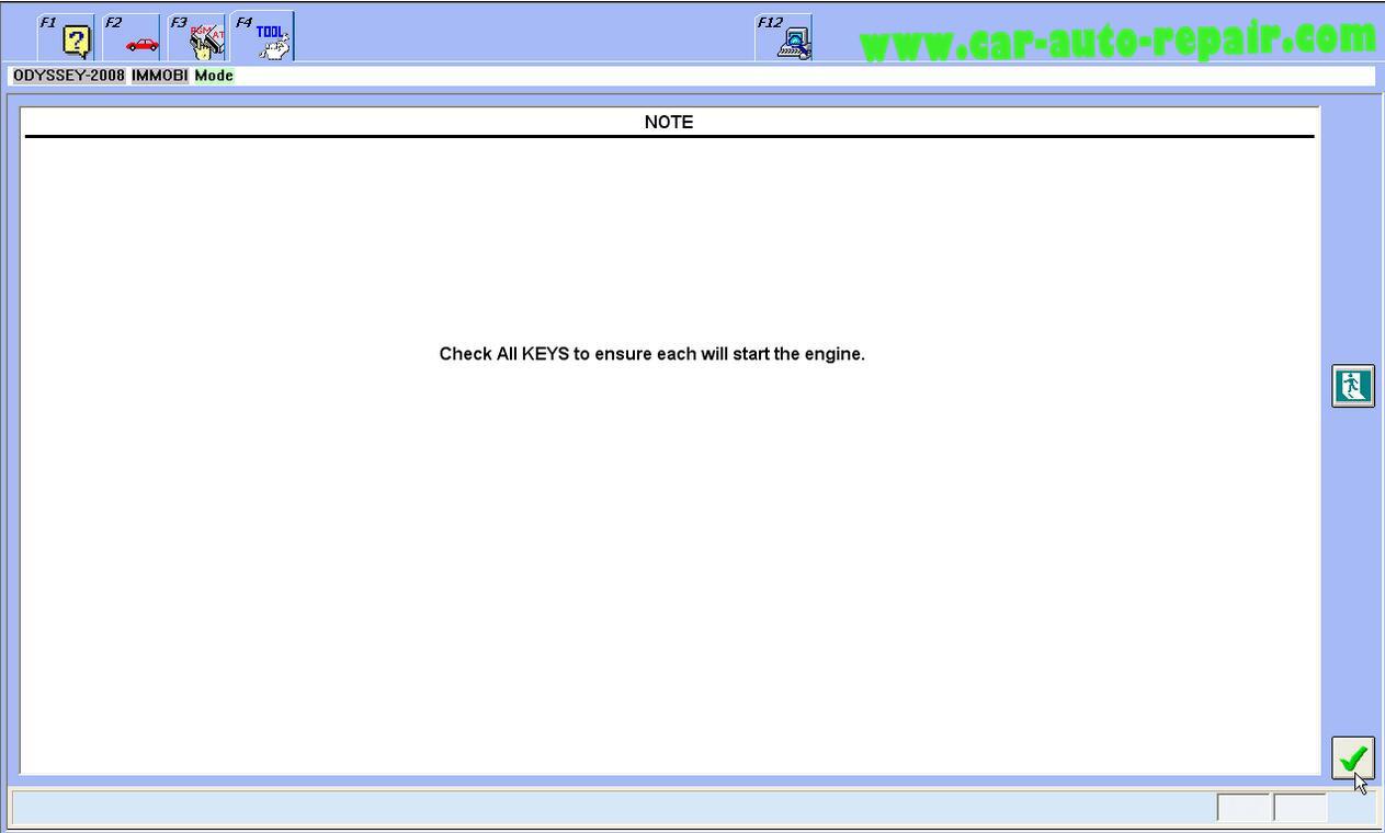 Honda Odyssey 2008 ProgramRegister New ECMPCM by Honda HDS (10)
