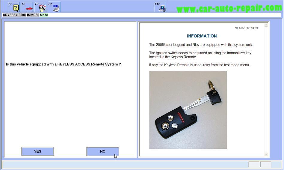Honda Odyssey 2008 ProgramRegister New ECMPCM by Honda HDS (11)