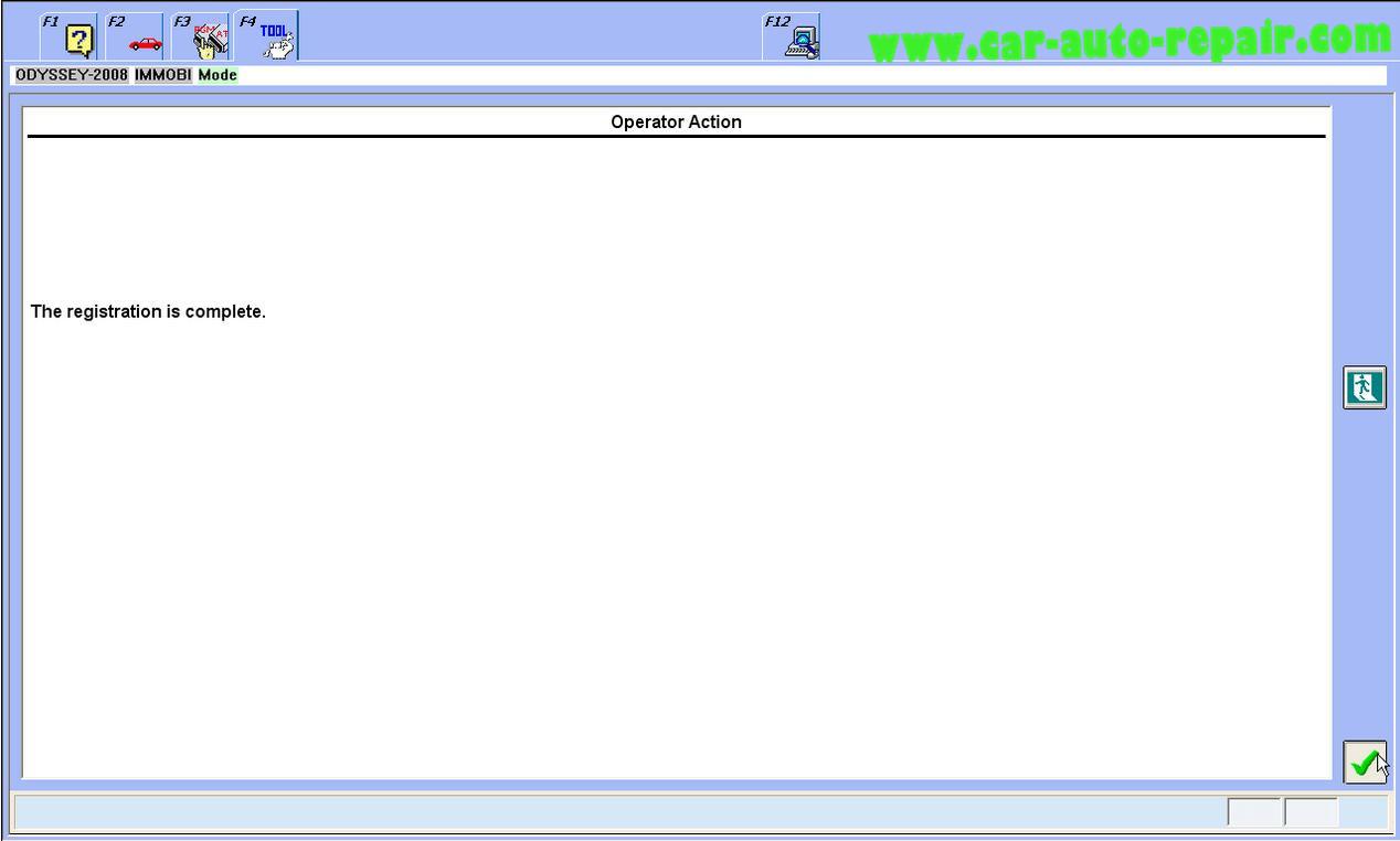 Honda Odyssey 2008 ProgramRegister New ECMPCM by Honda HDS (12)