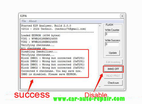 How to Disable Bosch MED9.1 IMMO for Audi,Touareg and Golf 6 (5)