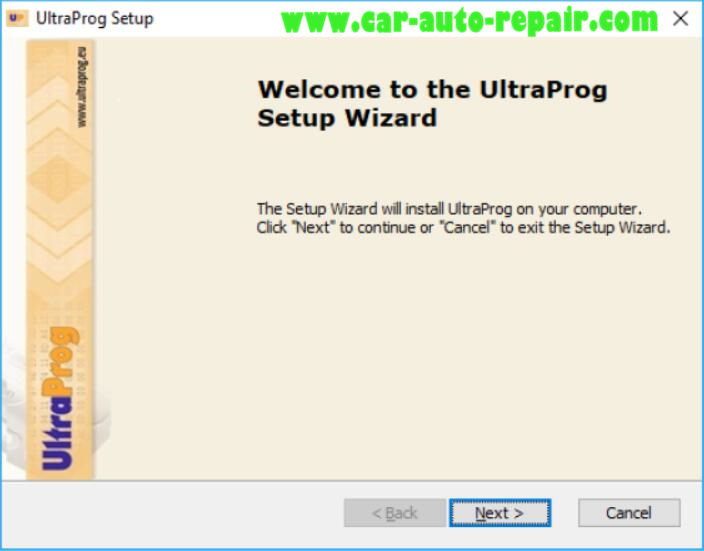 How to Install UltraProg Programmer Software (2)