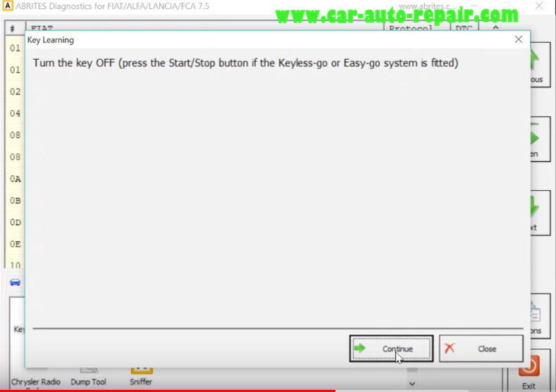 AVDI All Key Lost Programming for Alfa Romeo Giulia Keyless by OBD (11)