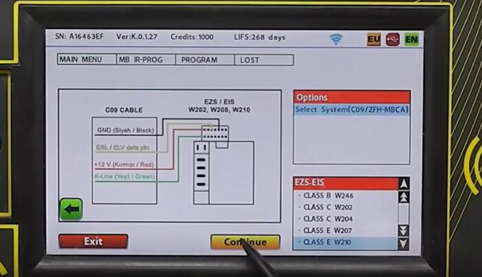 Benz W210 FBS 3 All Key Lost Programming by Zed-Full Programmer (17)