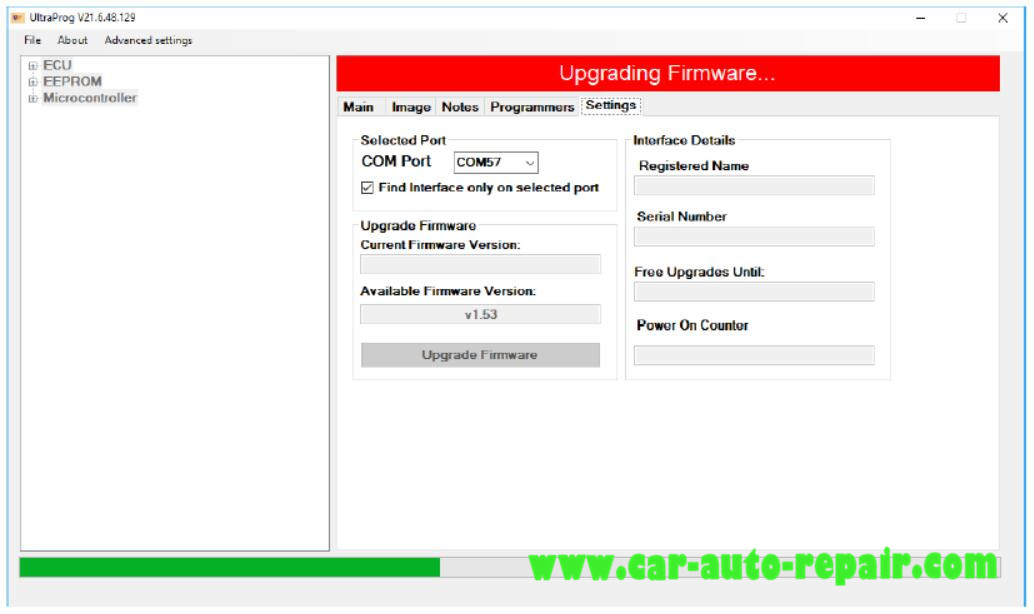 How to Upgrade UltraProg Programmer Firmware (3)