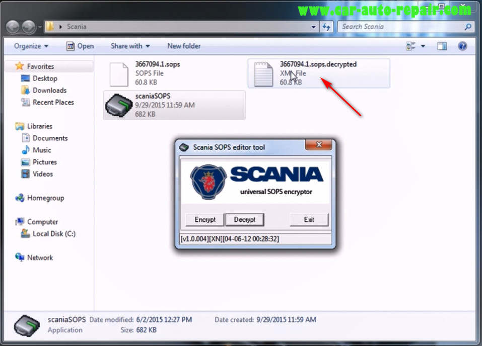 How to use Scania SOPS +XML Editor Change Speed Limit (3)