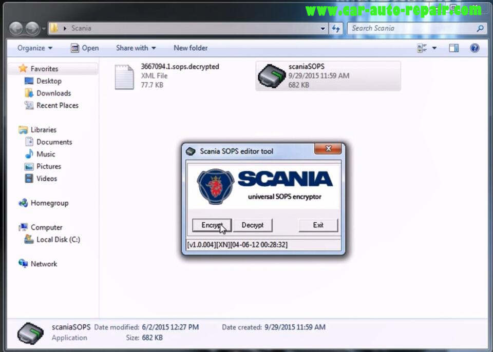 How to use Scania SOPS +XML Editor Change Speed Limit (9)