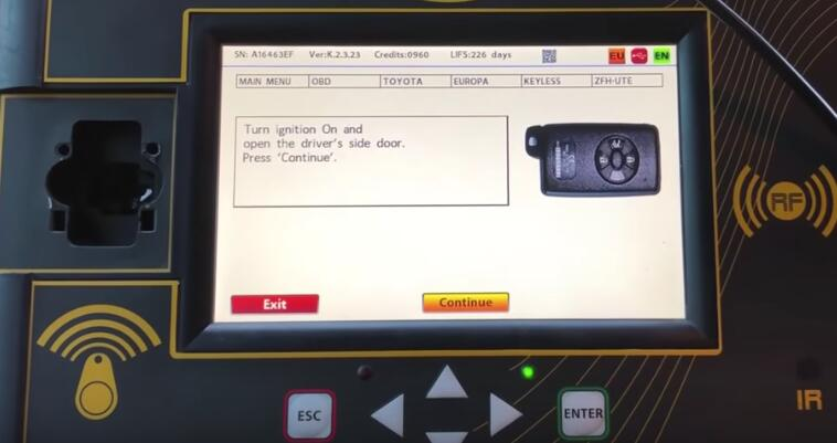 Toyota Corolla 2013+ Keyless Go All Keys Lost Programming by Zed-Full (14)