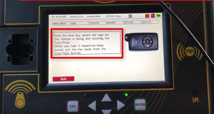 Toyota Corolla 2013+ Keyless Go All Keys Lost Programming by Zed-Full (17)