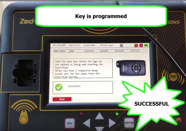 Toyota Corolla 2013+ Keyless Go All Keys Lost Programming by Zed-Full (20)