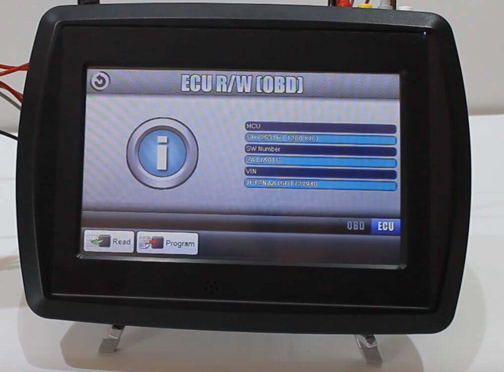 VF2 Flasher Read Subaru BRZ ECU on Bench Mode (10)