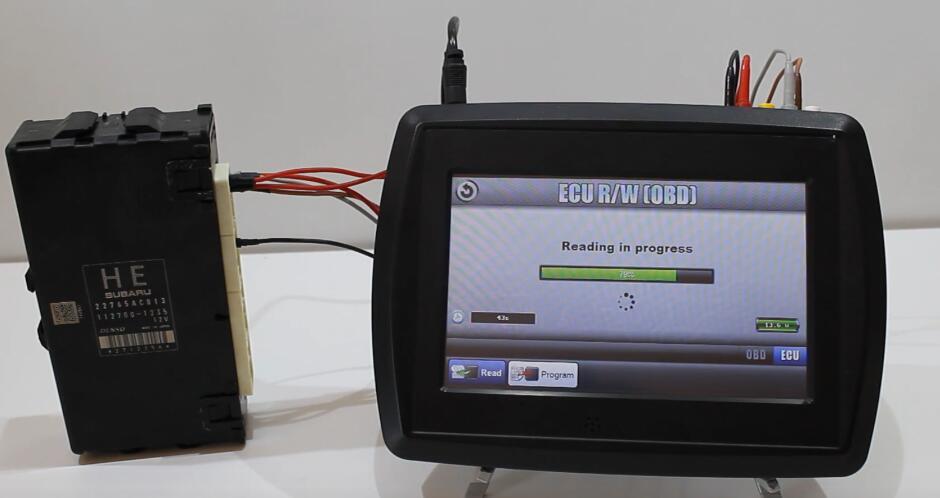 VF2 Flasher Read Subaru BRZ ECU on Bench Mode (12)