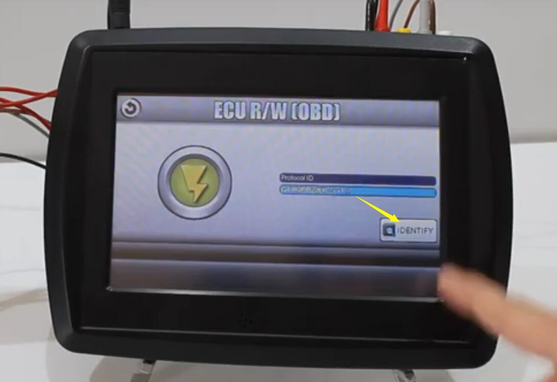 VF2 Flasher Read Subaru BRZ ECU on Bench Mode (8)