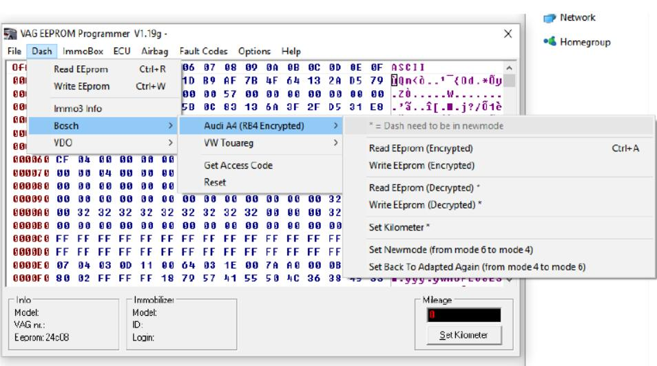 VAG EEPROM Programmer 1.19g Free Download-1
