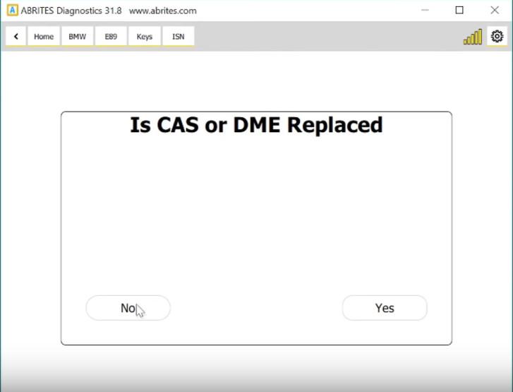 AVDI Read BMW MSD80 MSD81 DME ISN on Bench (18)