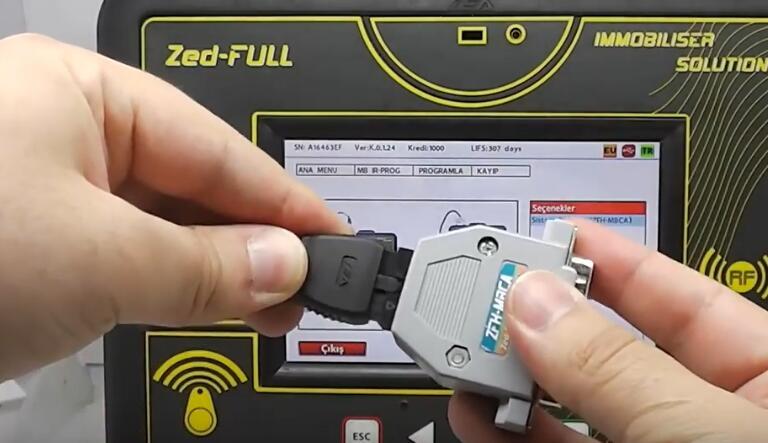 Benz W204 W207 W212(Old) All Key Lost Programming by Zed-Full (16)