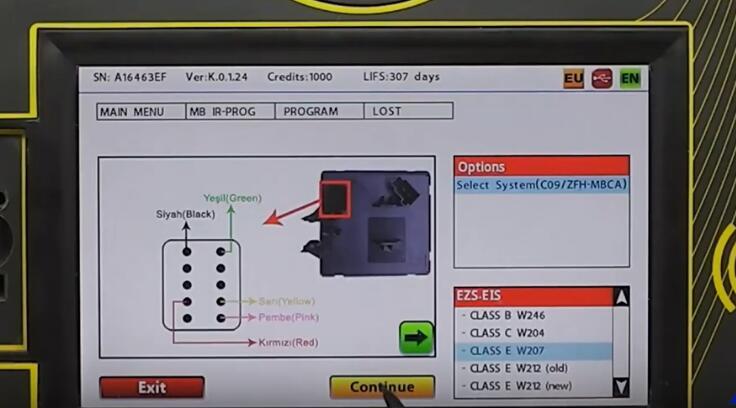 Benz W204 W207 W212(Old) All Key Lost Programming by Zed-Full (19)