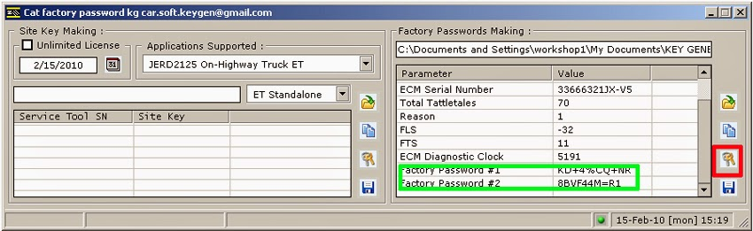 CAT Factory Password Keygen &ET SIS STW License Key Download (10)