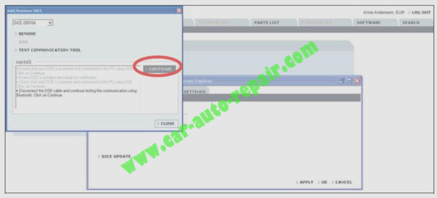 How to Adding the First DiCE Unit in Volvo VIDA 2014D (12)