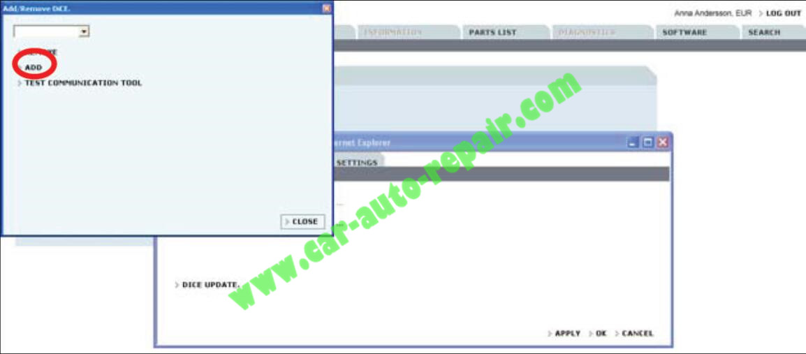 How to Adding the First DiCE Unit in Volvo VIDA 2014D (5)