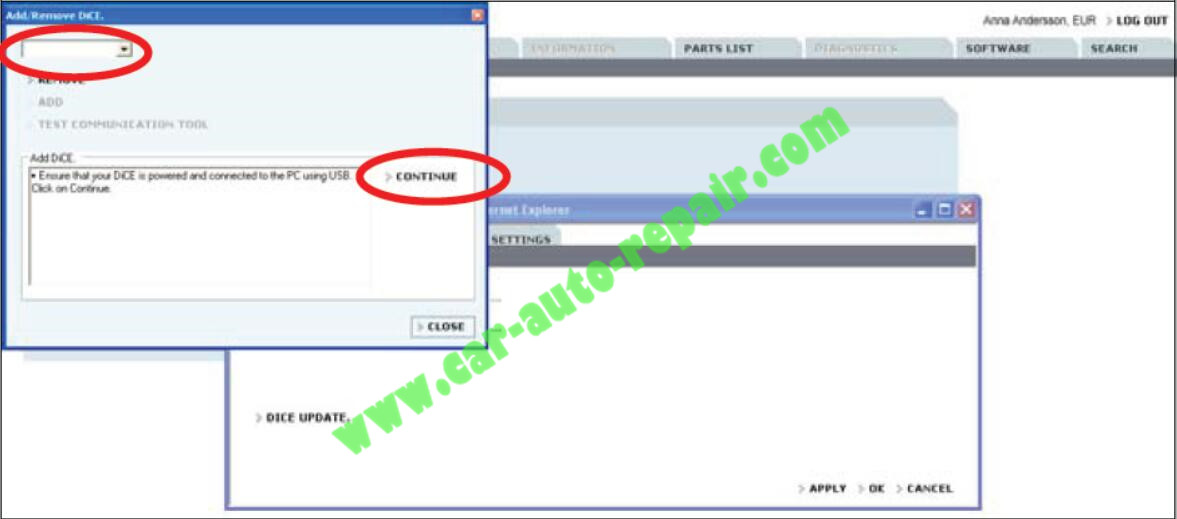 How to Adding the First DiCE Unit in Volvo VIDA 2014D (6)