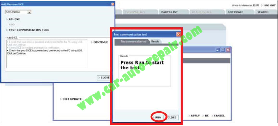 How to Adding the First DiCE Unit in Volvo VIDA 2014D (8)