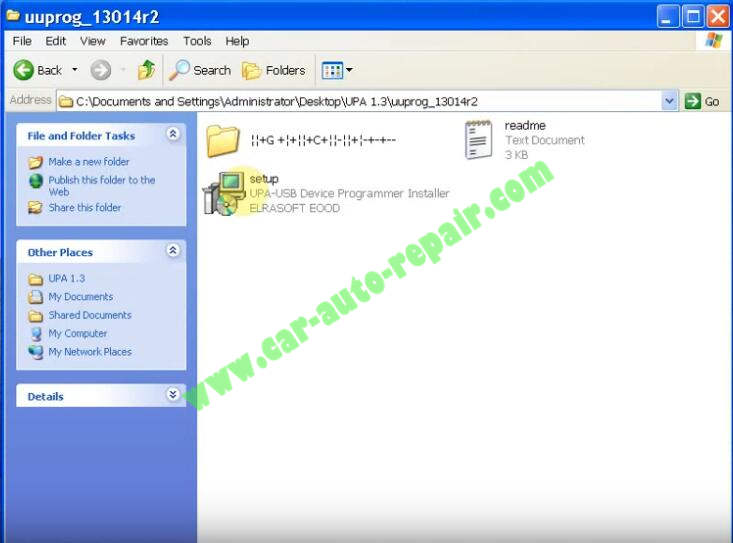 How to Install UPA USB Programmer V1.3 Software (1)