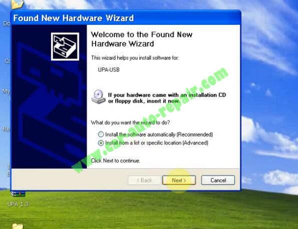 How to Install UPA USB Programmer V1.3 Software (11)
