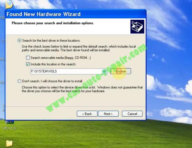 How to Install UPA USB Programmer V1.3 Software (12)