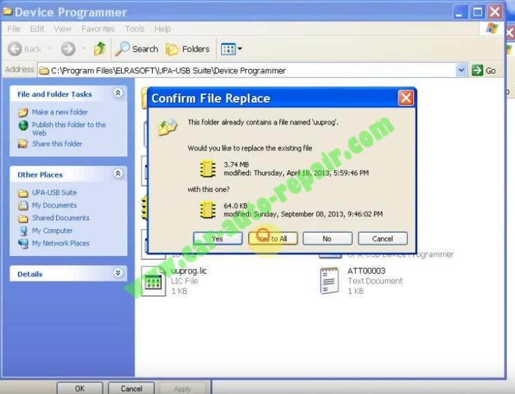 How to Install UPA USB Programmer V1.3 Software (9)