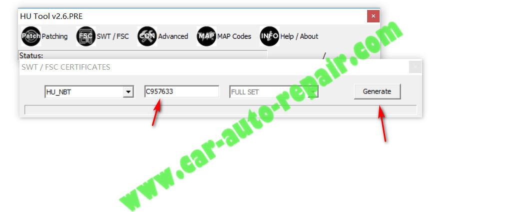How to Use HU TOOL Generate BMW EVO NBT CIC FSC |Auto Repair