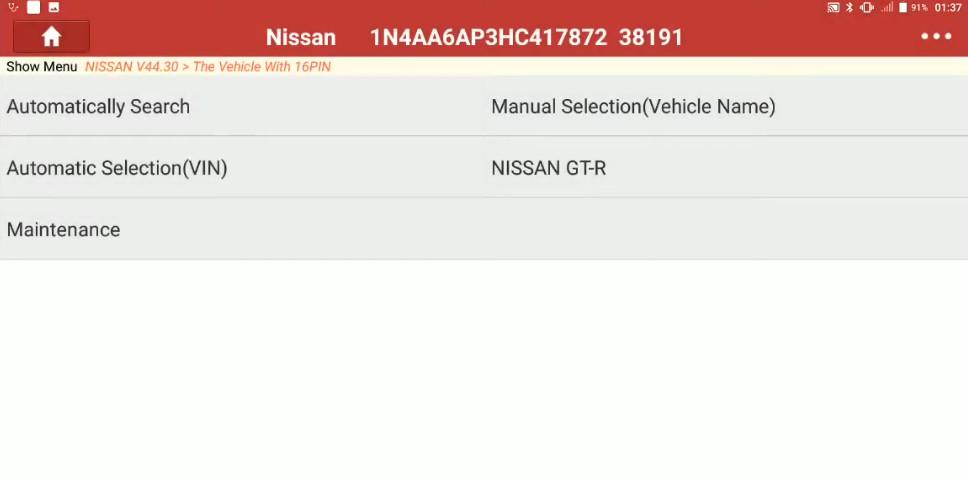 Launch X431 Torque Set IL D Unlock Intcon for Nissan Sentra 2014 (5)