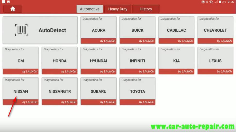 Nissan Sentra 2014 Steering Angle Sensor Adjustment (1)