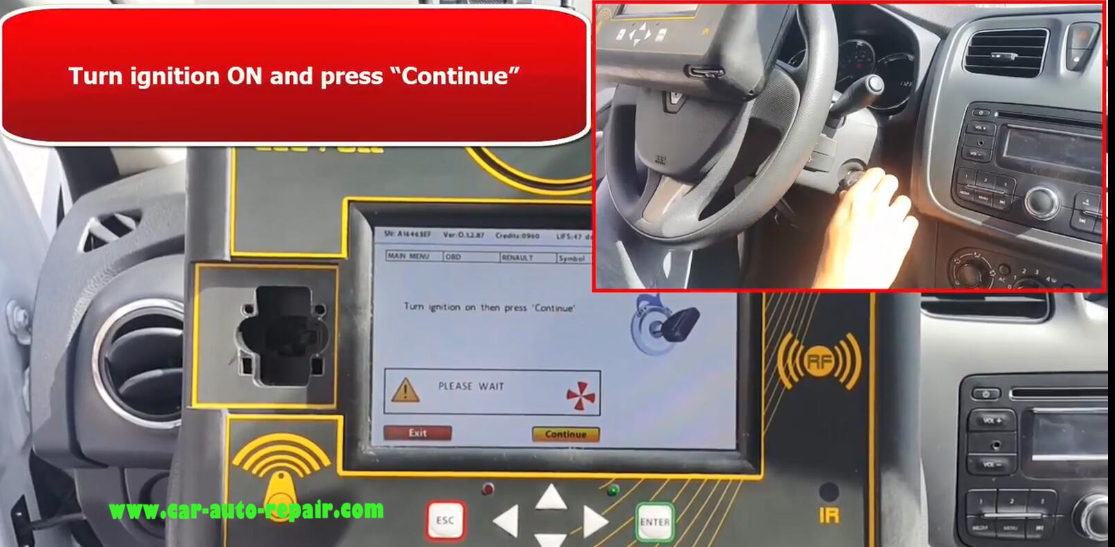 Renault SYMBOL 13+ Key Programming by Zed-Full Programmer (10)