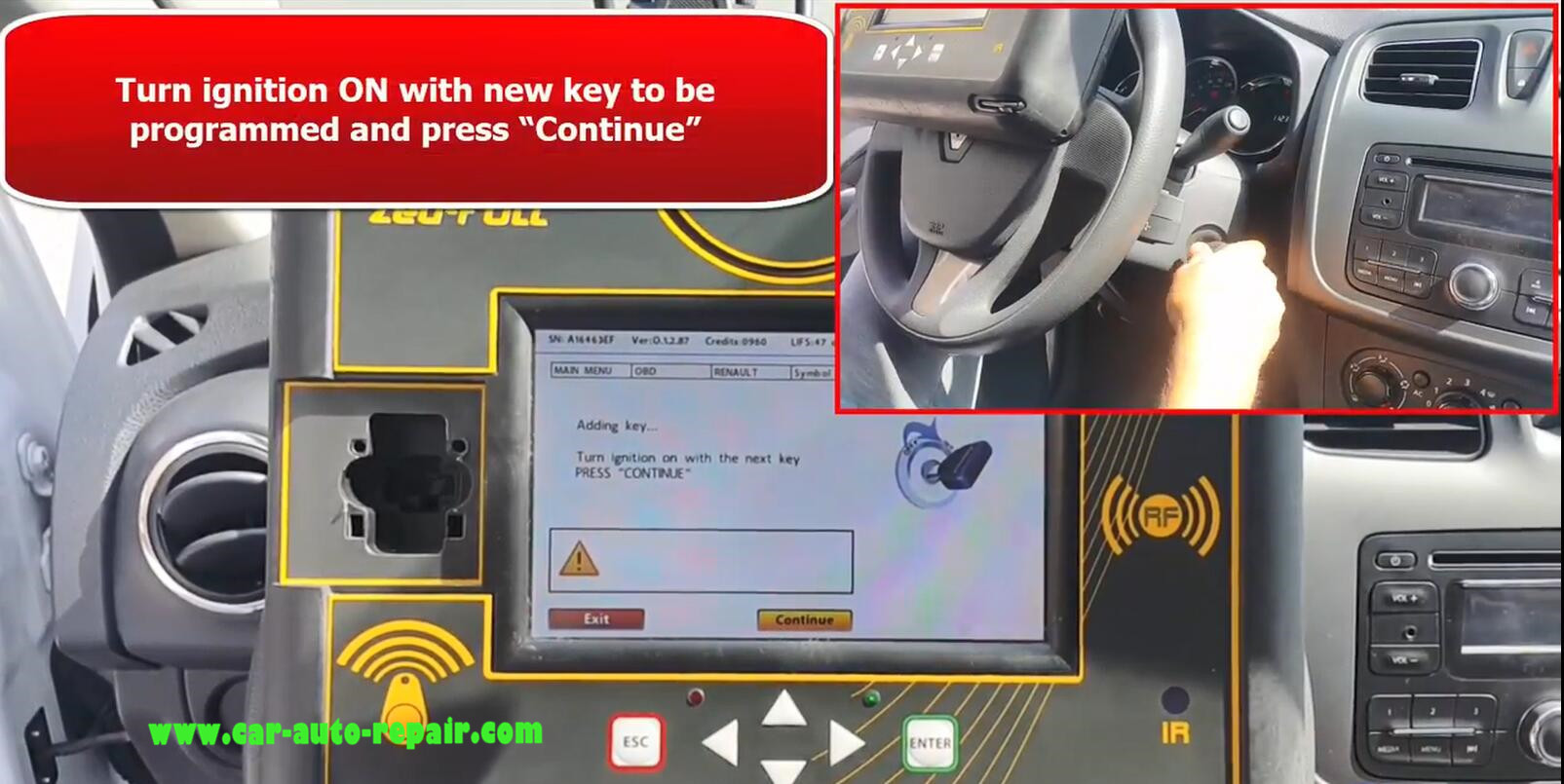 Renault SYMBOL 13+ Key Programming by Zed-Full Programmer (11)