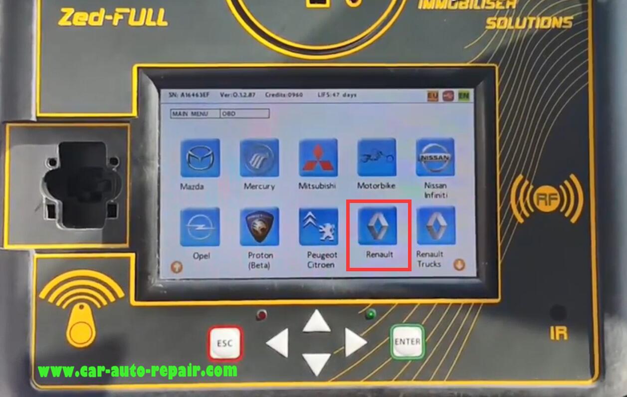 Renault SYMBOL 13+ Key Programming by Zed-Full Programmer (3)
