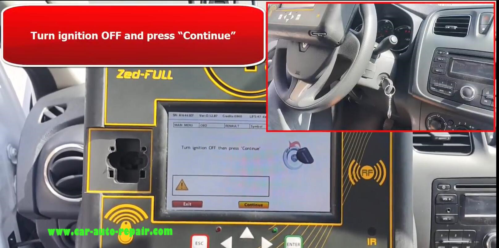 Renault SYMBOL 13+ Key Programming by Zed-Full Programmer (9)