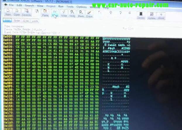 XPROG-M Programmer Read BMW CAS4 5M48H (9)