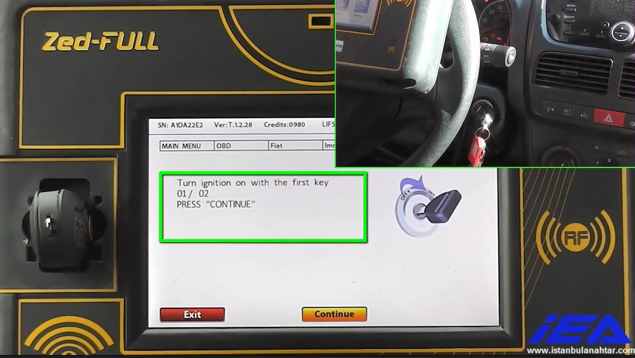 Zed-Full Add New Keys for Dodge Ram Promaster City (20)